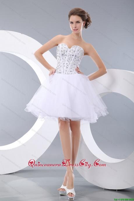 Quinceanera dresses short