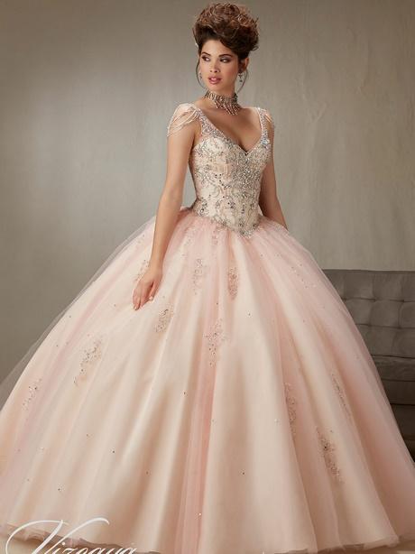 Rose Gold Quinceanera Dresses