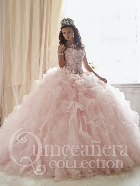 Rose Gold Quinceanera Dresses
