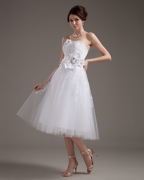 Calf length wedding dresses for Calf length wedding dresses