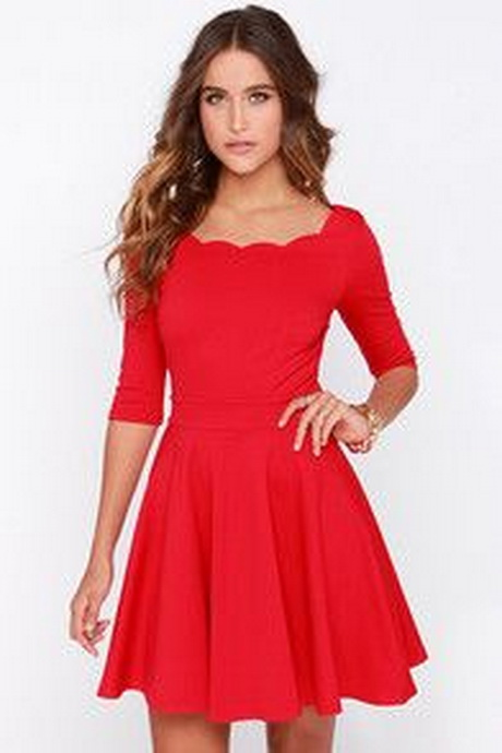 impactful casual red dress outfits shoes