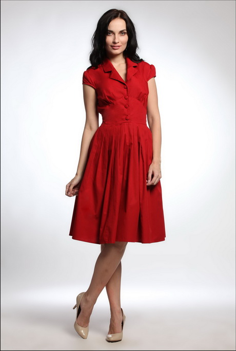 Casual Red Dresses For Women