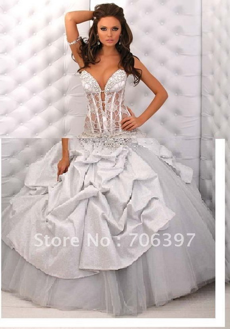 Corset wedding dress for What to wear under wedding dress corset