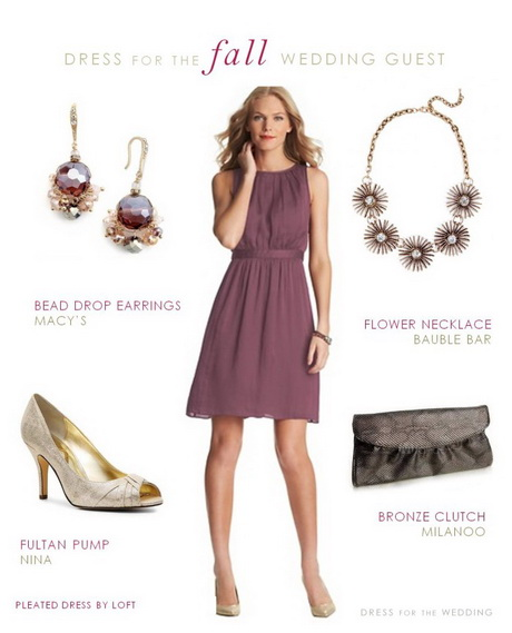 Dress To Wear To A Fall Wedding As A Guest