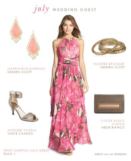 Dresses guests to wear to a wedding for Wearing a maxi dress to a wedding