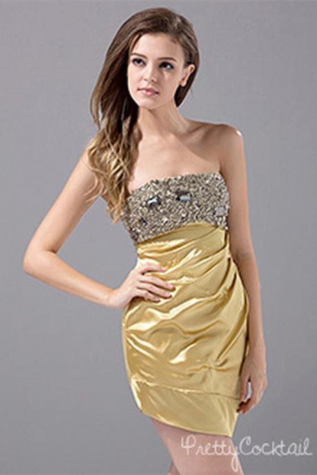 Dresses gold for women