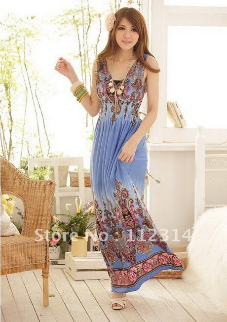 long casual summer dresses for women
