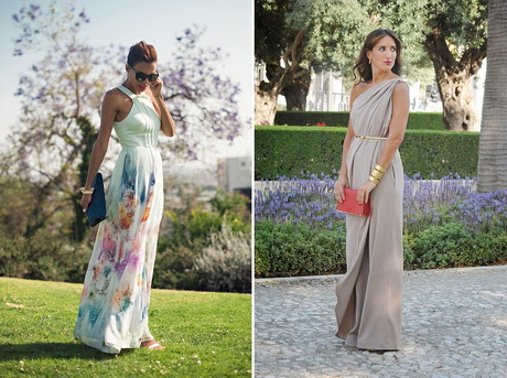 long dresses to wear to a wedding as a guest