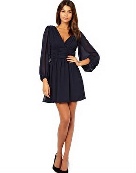 Long sleeved dresses for wedding guests for Winter wedding guest dresses with sleeves