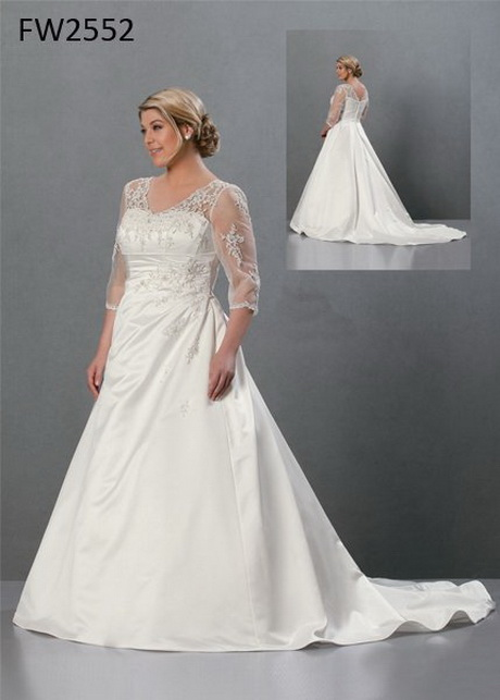 Plus Wedding Dresses With Sleeves