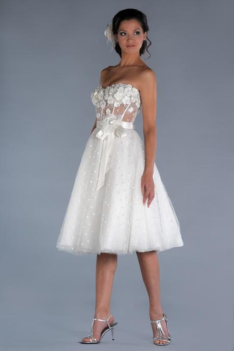 Short designer wedding dress for Short couture wedding dresses