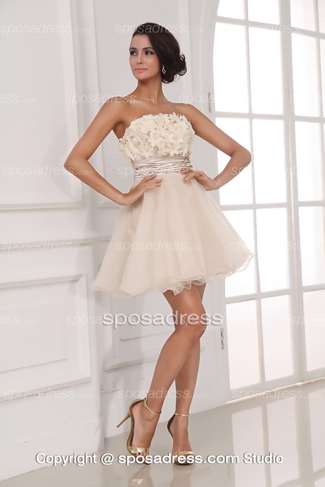 Short fun wedding dresses for Cute short wedding dresses