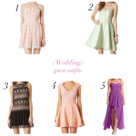 Wedding day outfits for guest for Daytime dresses for wedding guests