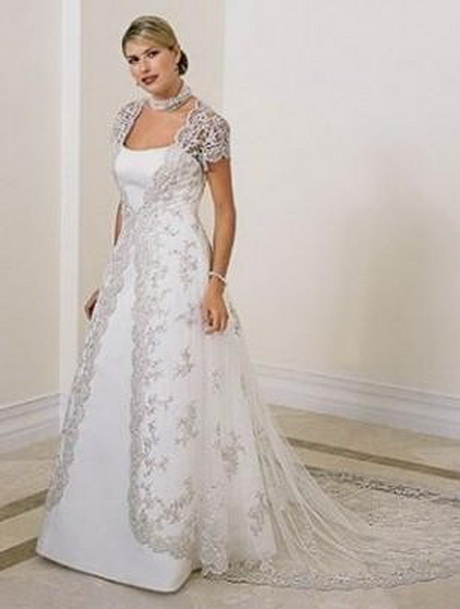 wedding dress for large women