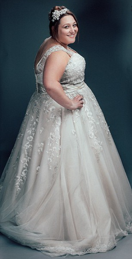 Wedding dresses for big ladies for Wedding dress big size