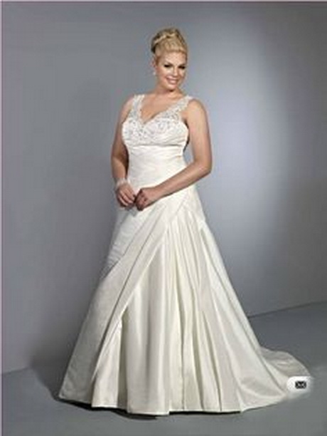 Wedding dresses for chubby brides for Best wedding dresses for short fat brides