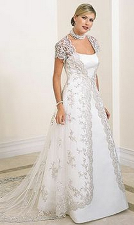 wedding dresses for full figured brides