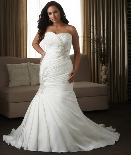 Wedding Gowns For Petite Figures: Wedding Dresses For Full Figured Brides