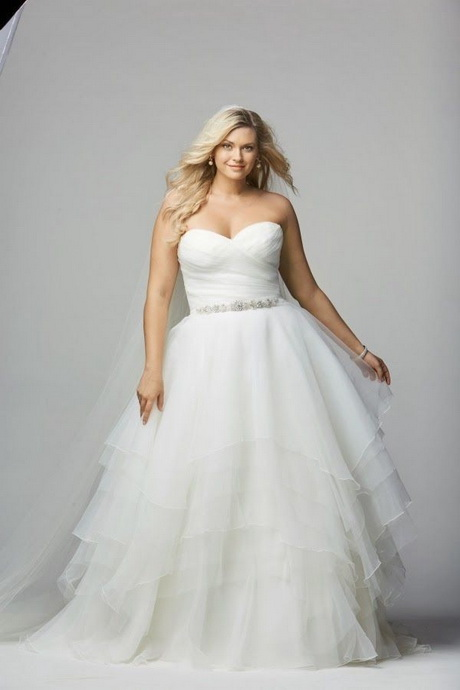 Wedding dresses for full figured brides for Full size wedding dresses