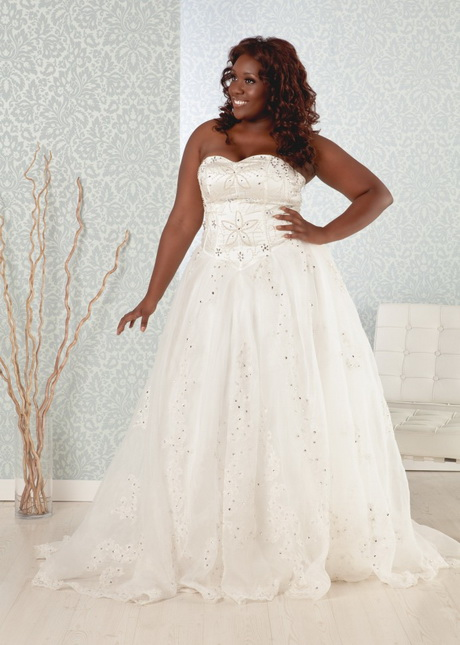 Wedding dresses for heavy women for Wedding dresses for tall plus size