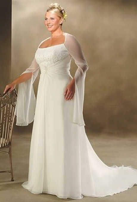 Wedding dresses for heavy women for Wedding dress ideas for short brides