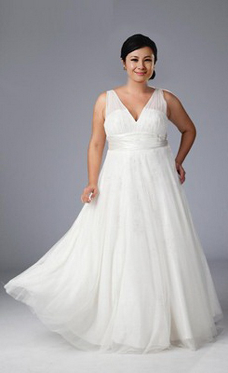 Wedding dresses for large women for Wedding dress big size