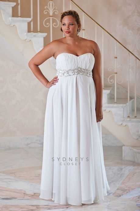 Wedding dresses for obese brides for Wedding dresses for thick brides