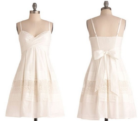 White Sundress For Wedding