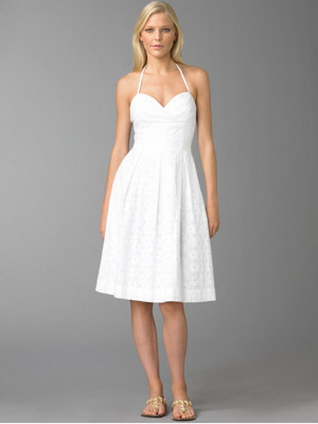 White Sundress For Wedding