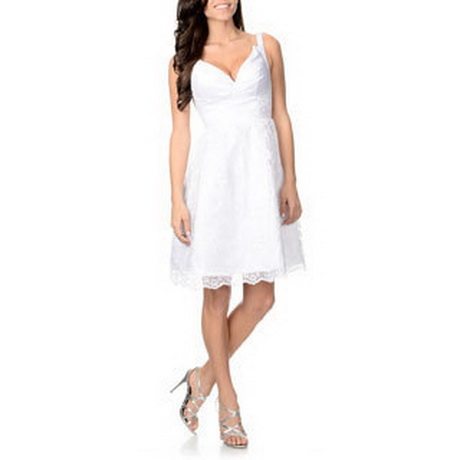Womens White Sundress