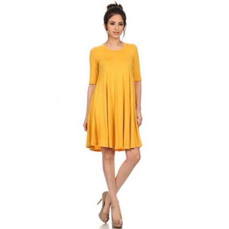 Womens Yellow Dresses
