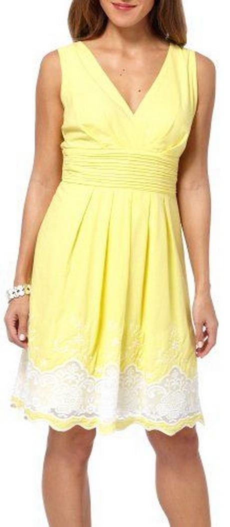 Womens Yellow Sundress