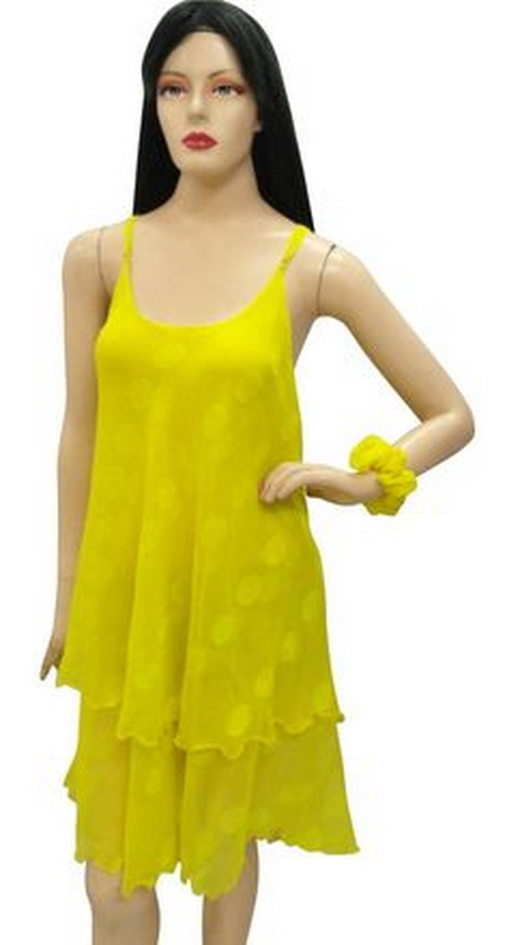 Womens Yellow Sundress