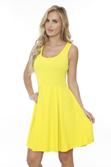 Yellow Dresses Women