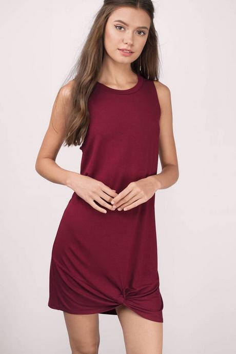 Casual Maroon Dresses