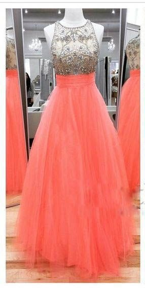 Coral prom dresses 2017