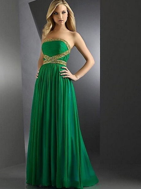 emerald green prom dresses 2017