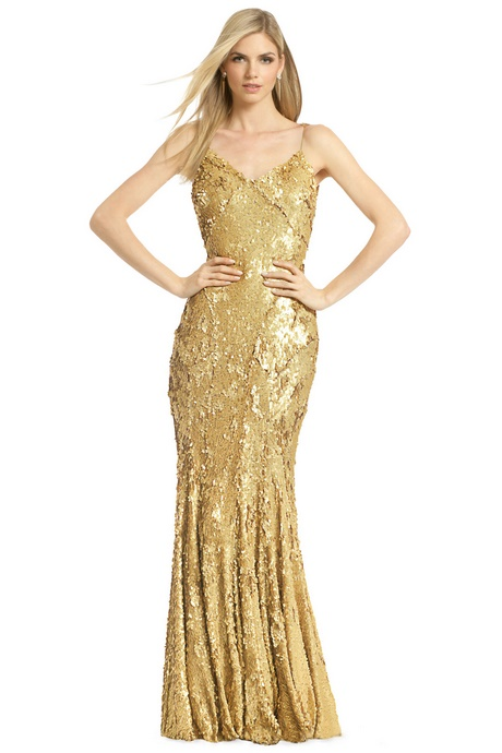 Gold Color Dresses Womens Dresses