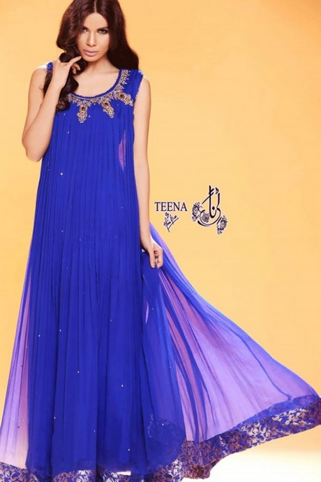 Long Frocks For Ladies