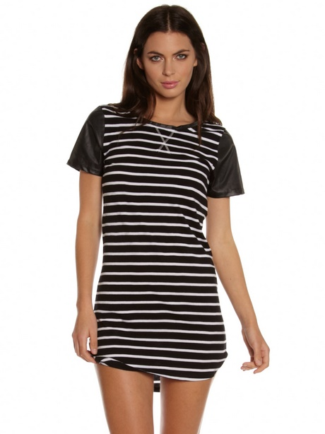 Black & White Stripe Floral Bridesmaid Tee Shirt This basic t-shirt features a relaxed fit for the female shape. Made from % cotton, this t-shirt is both durable and soft - a great combination if you're looking for that casual wardrobe staple.