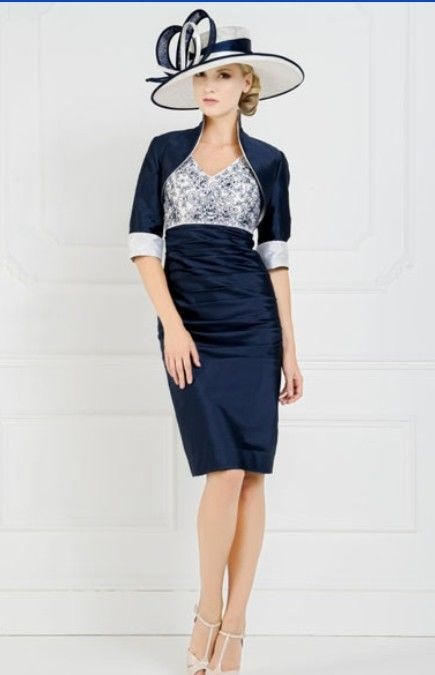 Mother Of The Bride Dresses Navy Blue
