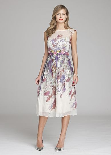 Mother Of The Bride Floral Dresses