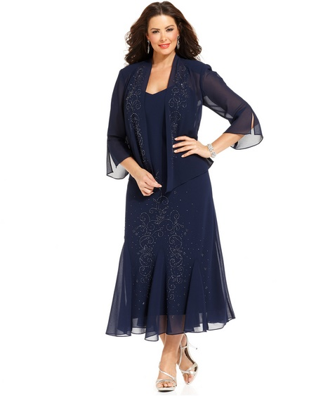 Navy Blue Mother Of The Groom Dresses