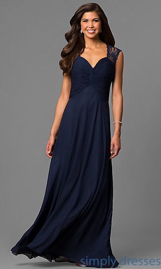 Navy Mother Of The Groom Dresses