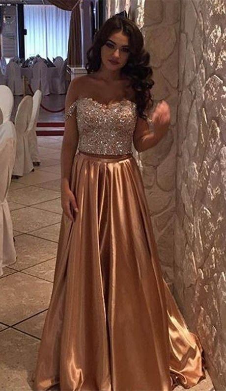 Prom dresses 2017 gold