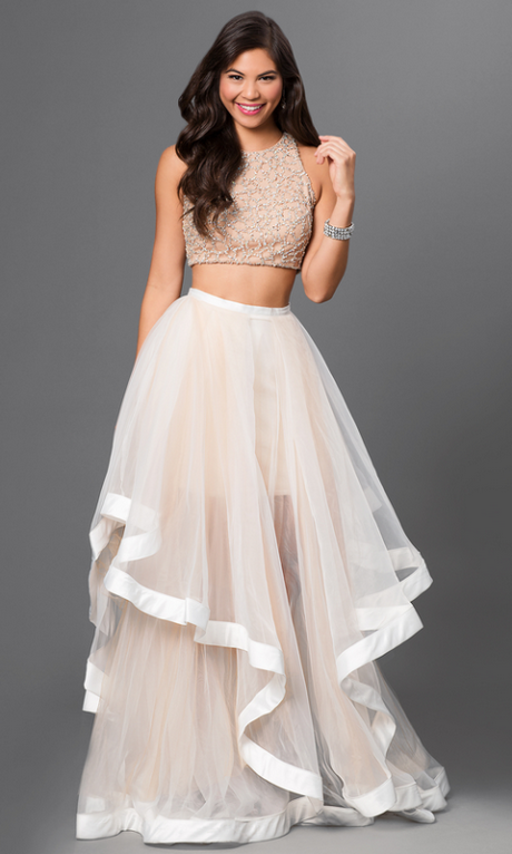 Prom dresses 2017 two piece