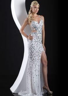 prom dresses with diamonds