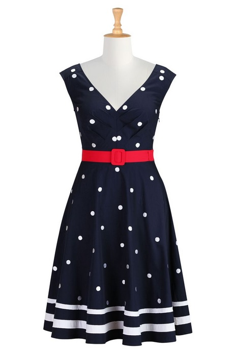 Red White And Blue Dresses For Womens