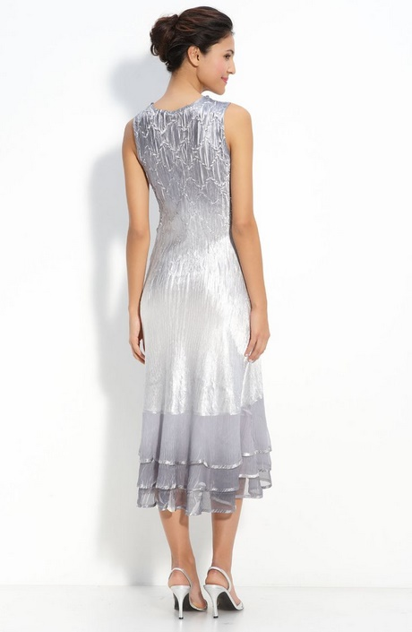 Silver Mother Of Groom Dresses
