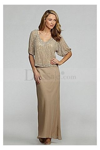 Two Piece Dresses For Mother Of The Bride